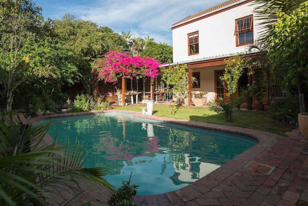 Large private heated pool