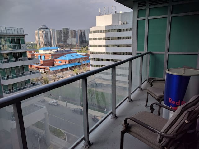 Entire Luxury Suite with Parking and Large Balcony