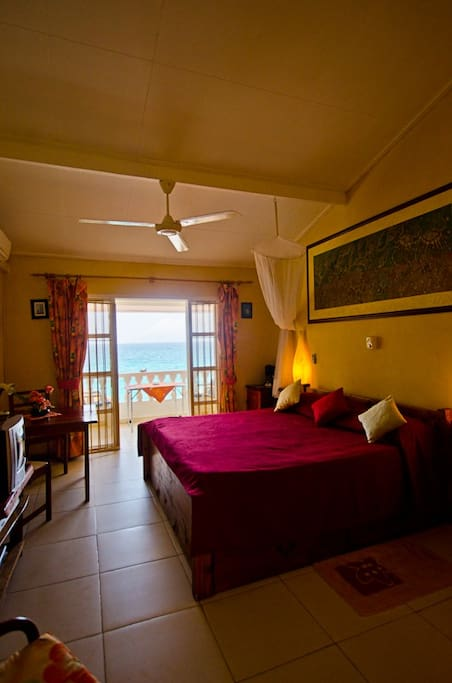 Main bedroom with magnificent view