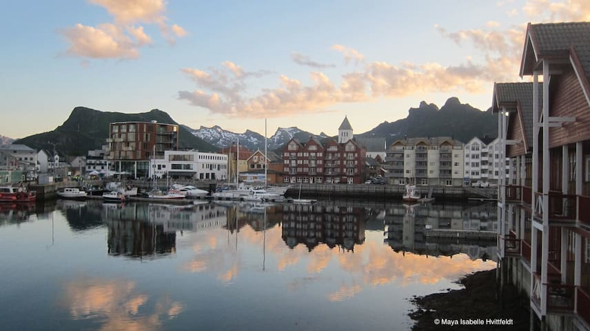 Center of Svolvaer-Lofoten