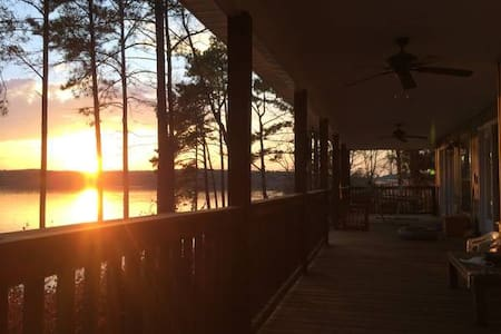 Big Water View, Lake Martin, AL. - Dadeville