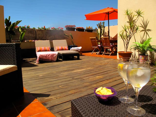 Precioso duplex con gran terraza - Puerto Rico de Gran Canaria - House