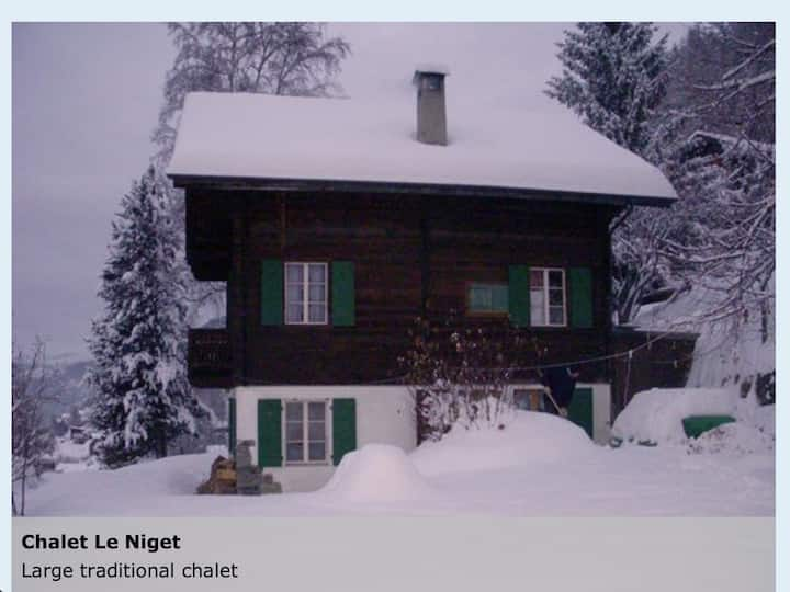 Beautiful Chalet, Mission, Ayer, Anniviers.