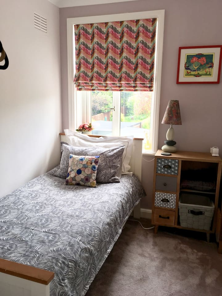 Small but well equipped single room