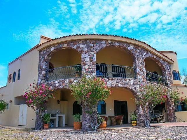 Casa Colonial - Ocean View - Safe - Private - San Carlos - Hus