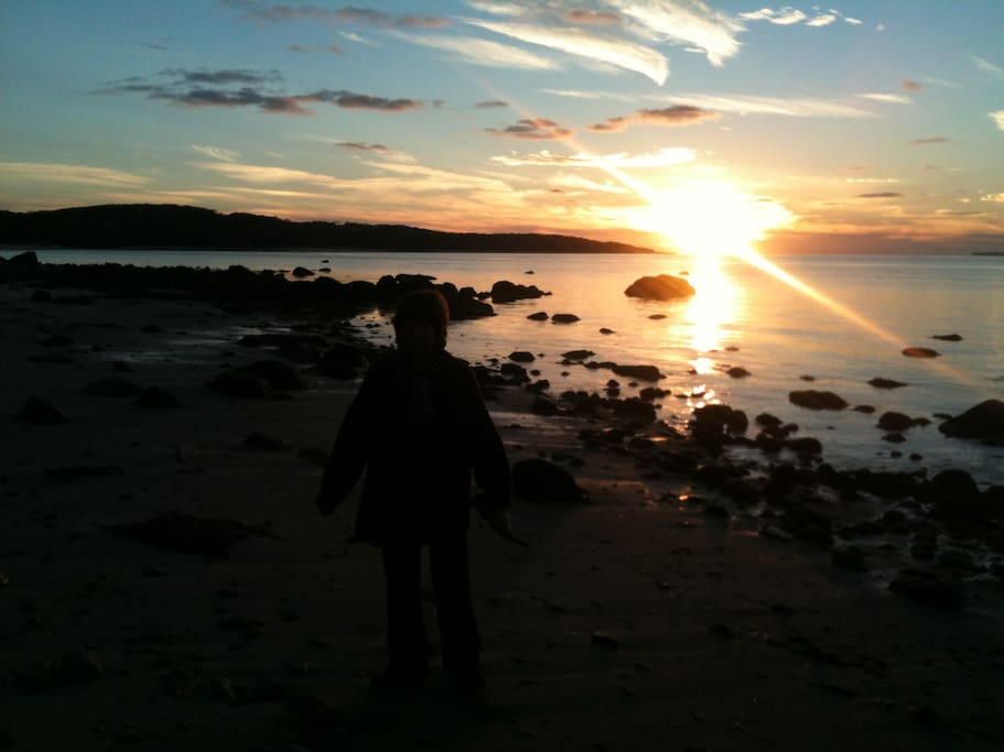 Amazing sunsets for your evening picnics at one of the island beaches.