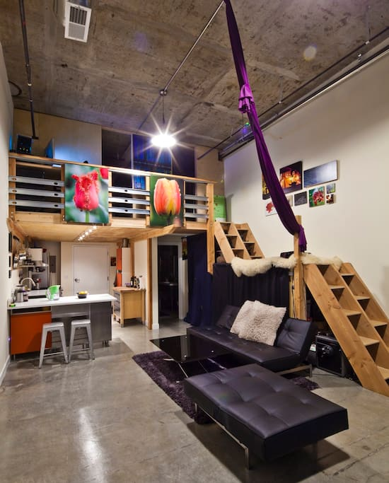 Amazing Modern Loft Great View Lofts For Rent In Seattle Washington Unit