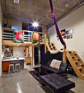 Amazing Modern Loft, Great View - Seattle - Loft