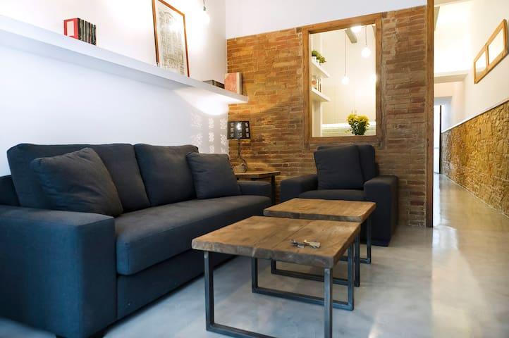 Appartement unique à Poble Sec!