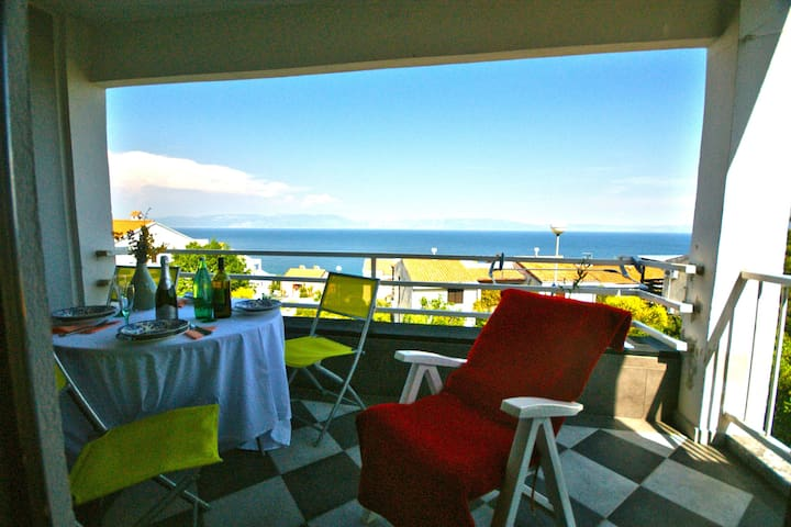 Apartment with stunning view- WIFI - Labin - Huoneisto