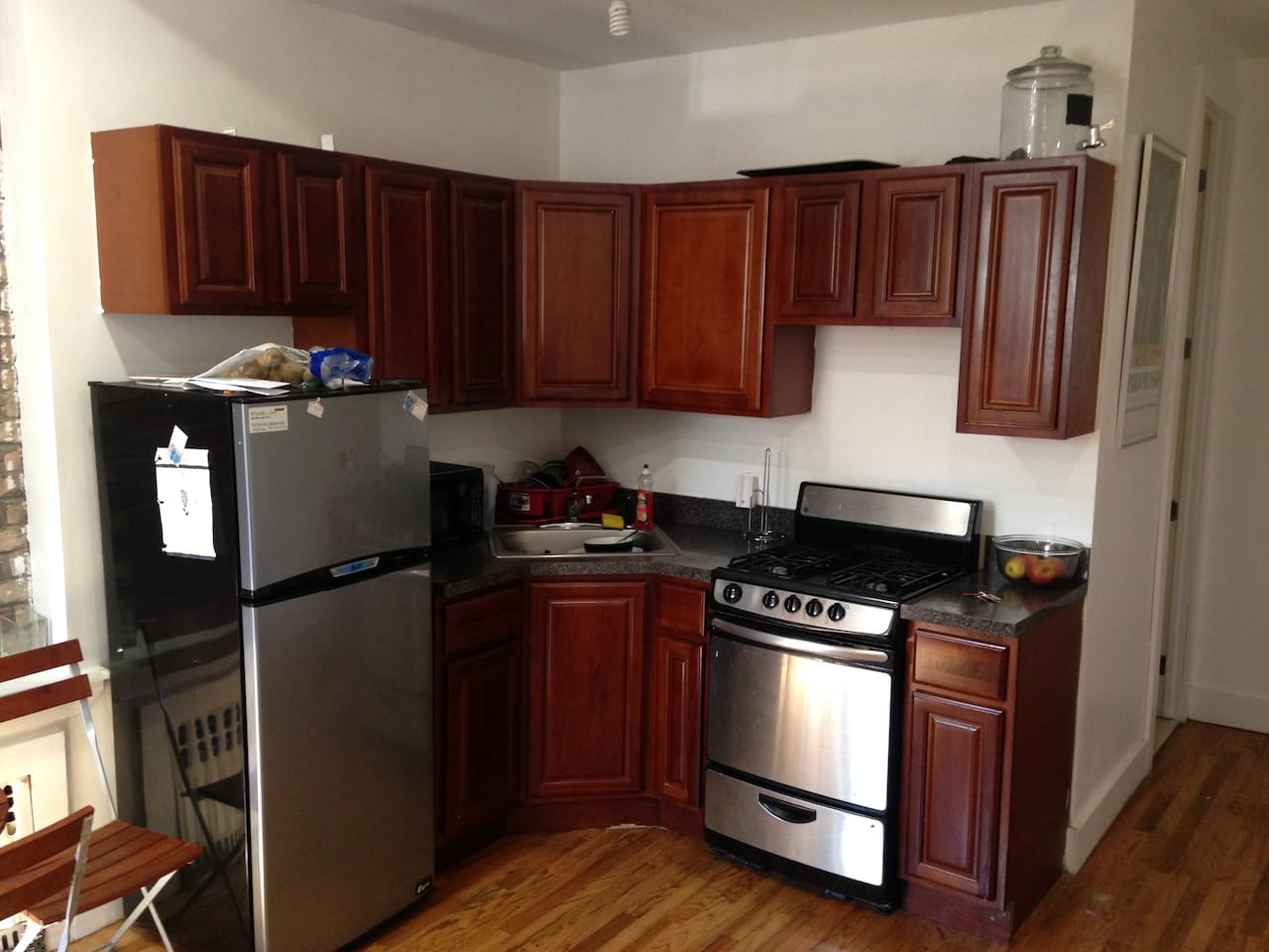 Kitchenette area. Cook at your leisure.
