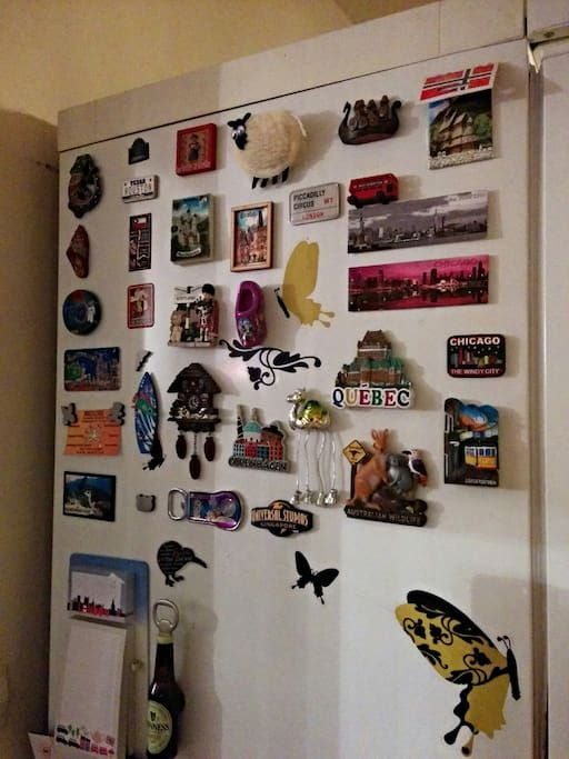 My Fridge Magnets Collection!!