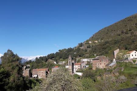 Petite maison de montagne Corse - Bustanico