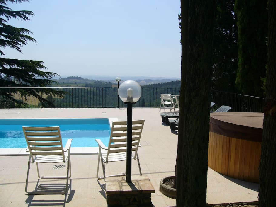 RELAX: pool & limitless view