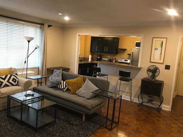 Downtown condo w/balcony -- close to everything!