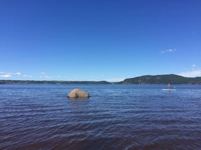 Superbe appart' sur bord de l'eau - Saguenay - Квартира