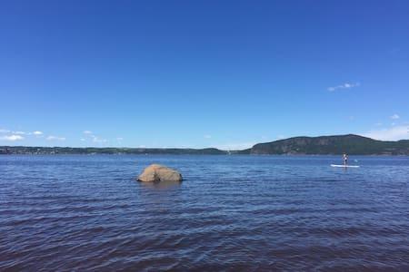 Superbe appart' sur bord de l'eau - Saguenay