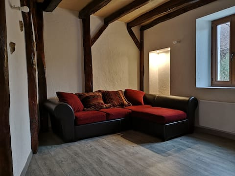 Apartment in a quiet house.