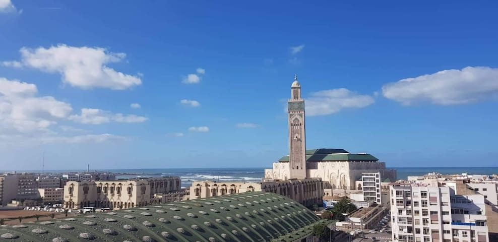 Casablanca Madina's Ocean views 2  & BREAKFAST