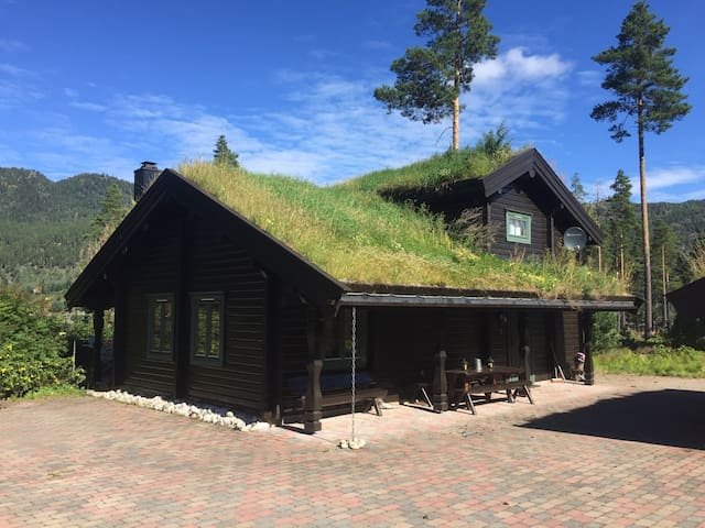 Sjarmerende hytte ved Vråvatn