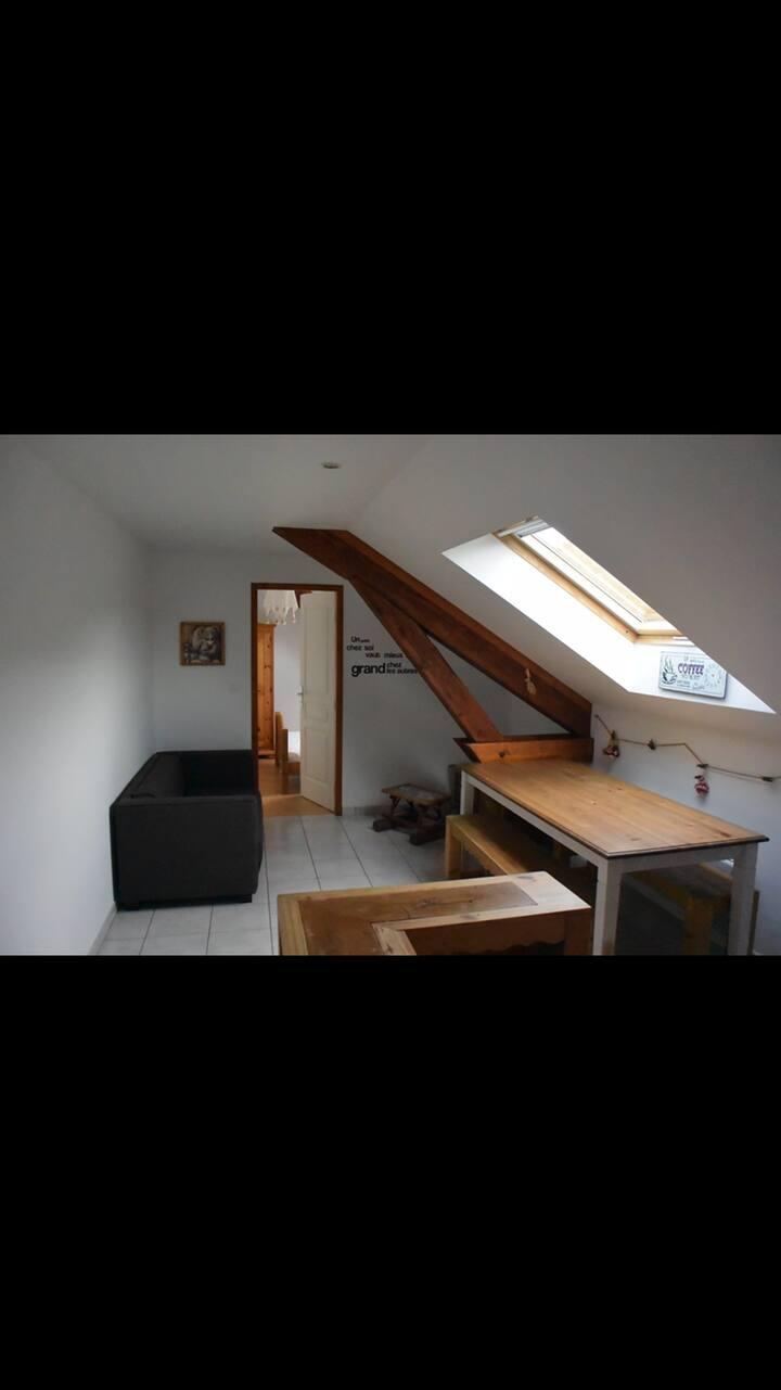 Appartement F2 proche La Bresse