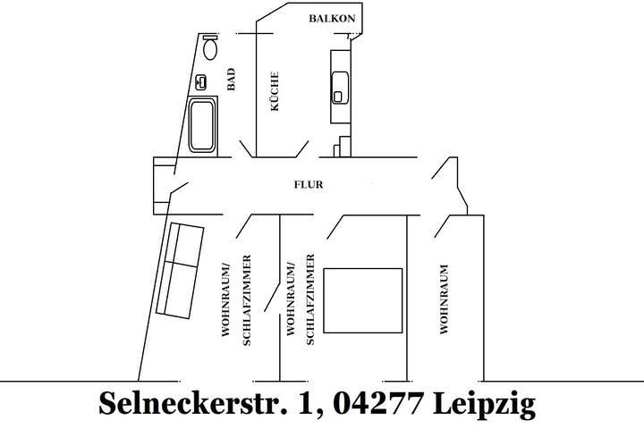 Wohnung am Connewitzer-Kreuz