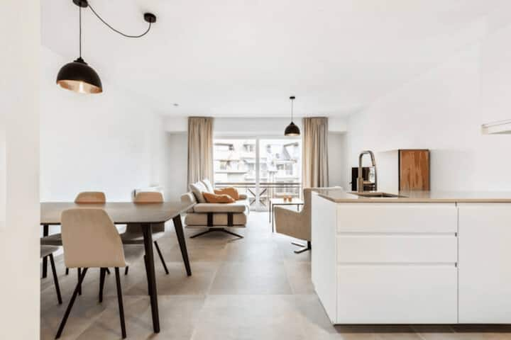 Lovely Apartment Located at the Centre of De Haan with Garage