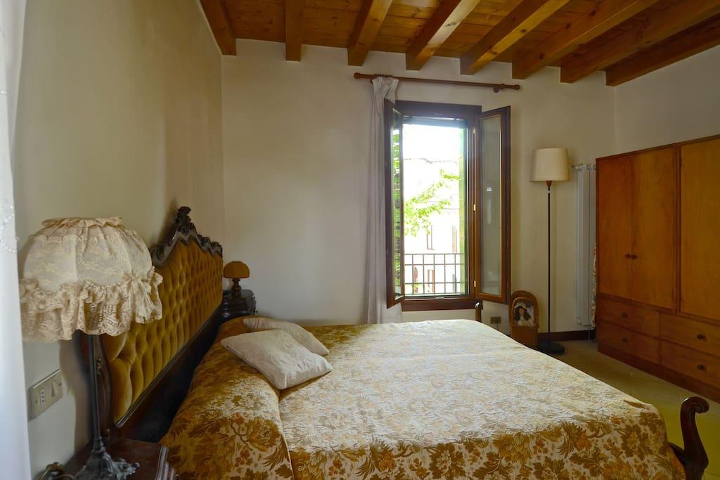 Bedroom in Casa Petra