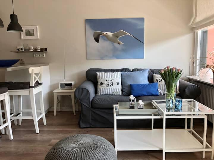 Schönes Apartment, natur- und strandnah