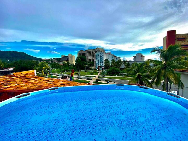 2 Lofts con Alberca Privada - Centro de Ixtapa