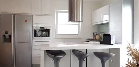Confortável casa familiar de 130m² não muito longe das praias