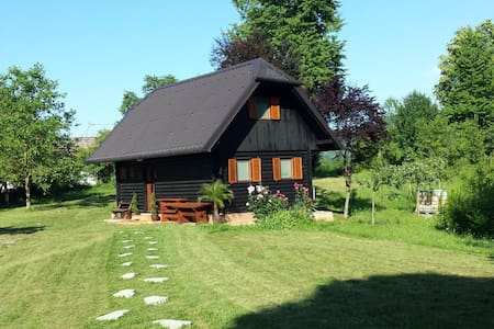 Cabin Holiday house Krone - Dolenjci - Kulübe