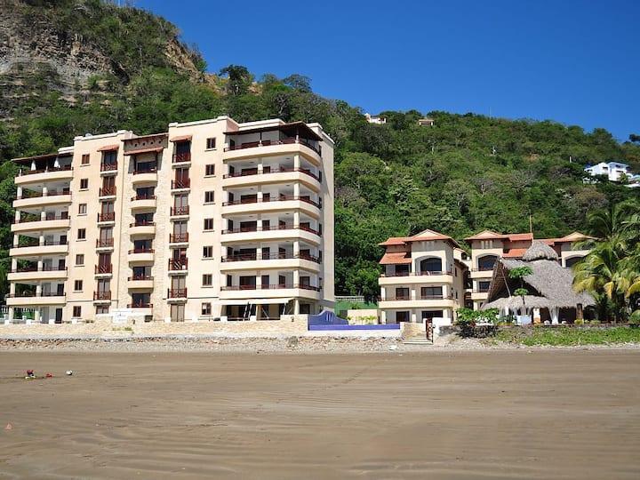 Beachfront Condo Best Location in San Juan del Sur