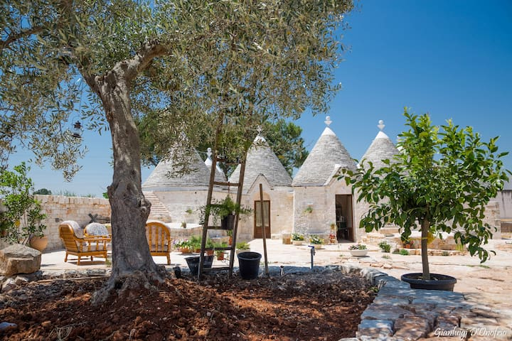 Trulli Annalocos - Relax and Nature vacation - Locorotondo - Daire