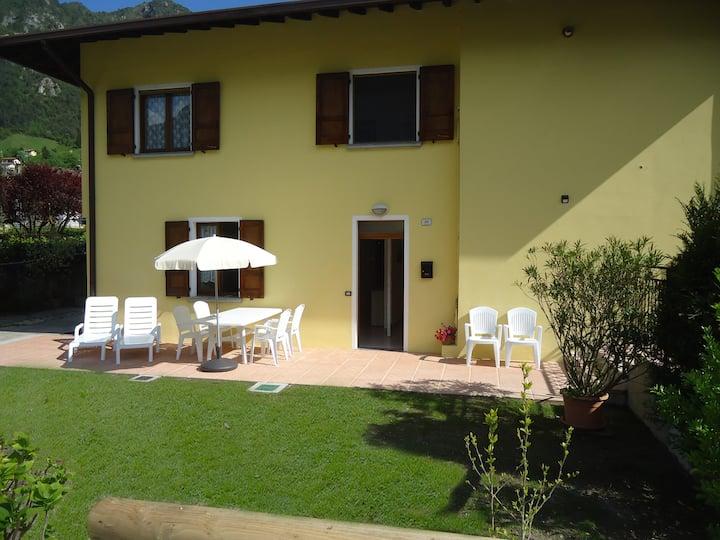 Casa Grazia- bis 7 Pers, Garten, ca. 300m zum See