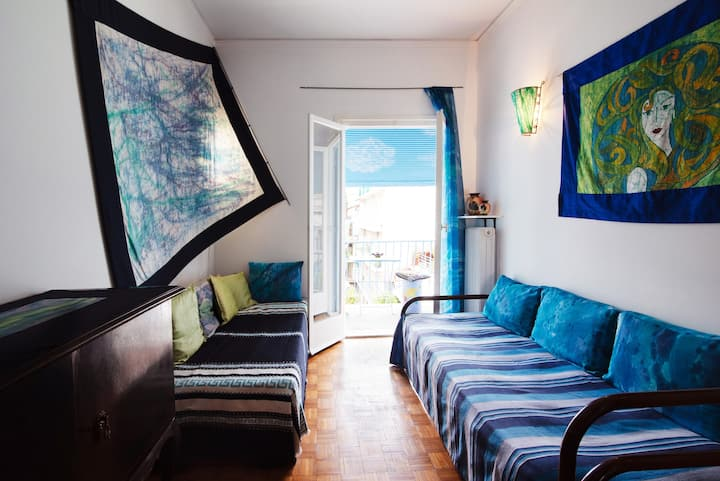 Athena's room/ new accommodation
