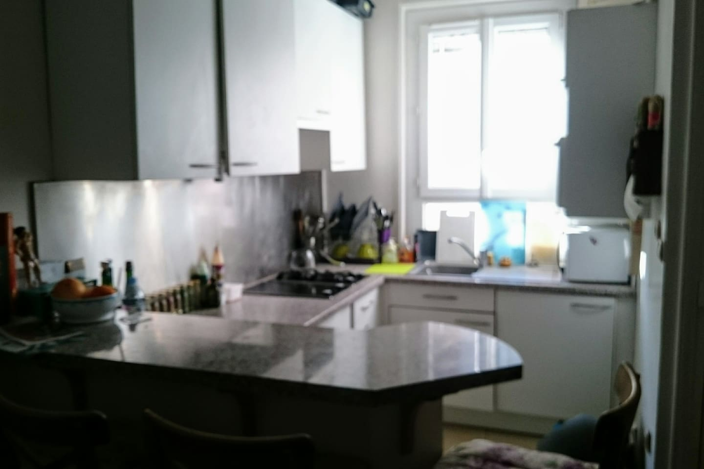 Kitchen (fully equiped, with plenty of food)