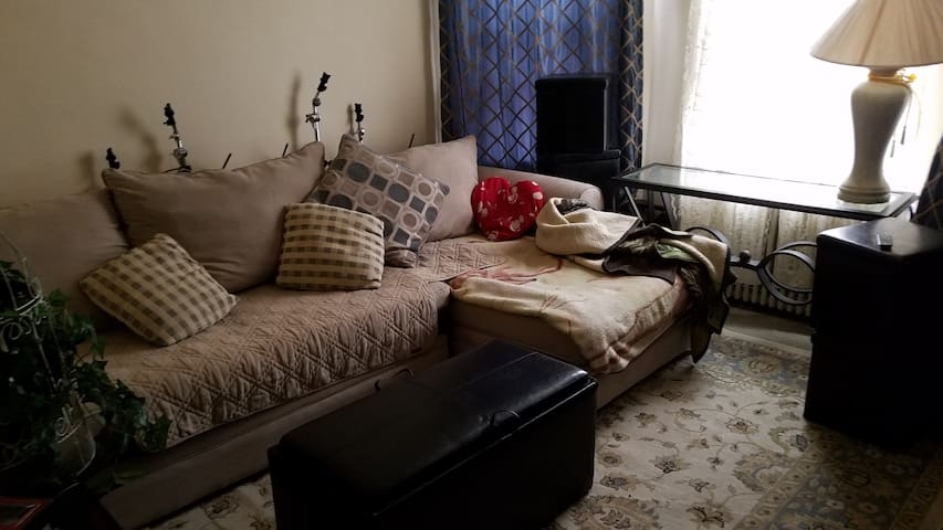 Comfy space 5 min MetLife and 20 bus to NYC - Wallington - Appartement