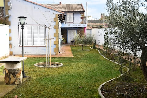 House with garden in rural Spain
