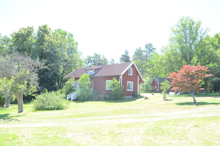 Cozy forest estate for rent. - Förkärla - Casa