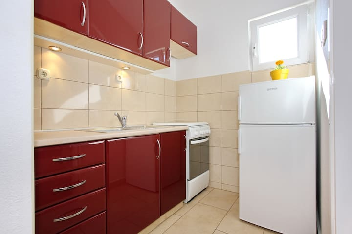 Small but essential kitchen