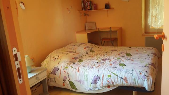 Une chambre dans ma maison.