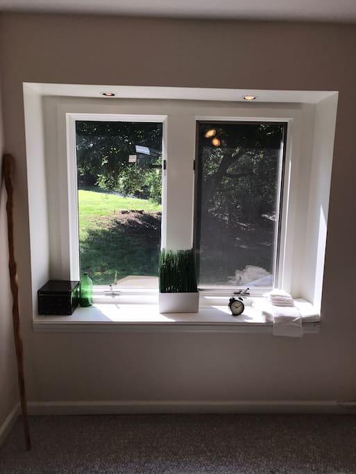 Window seat in Atrium Room