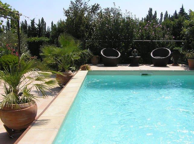 Villa Vanesse near Avignon & Orange - Sarrians - Villa
