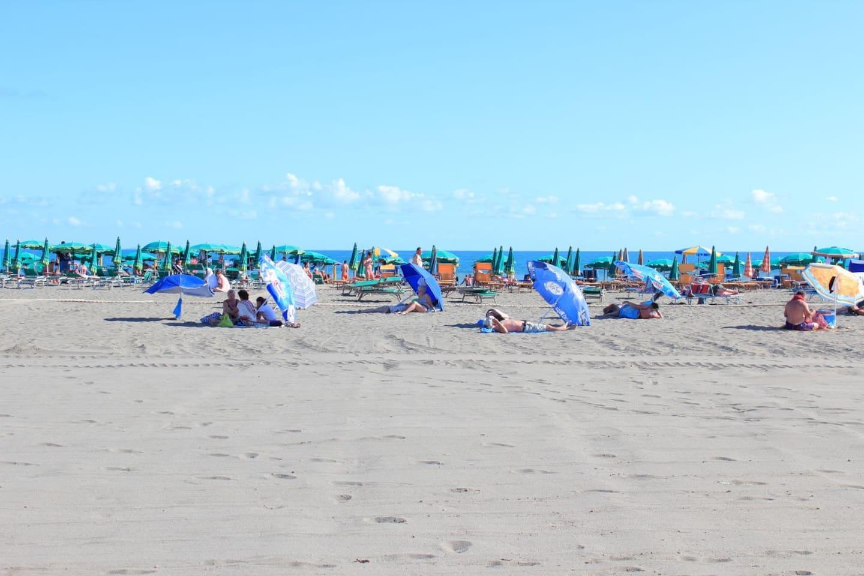 Nearby sandy beach 250 m