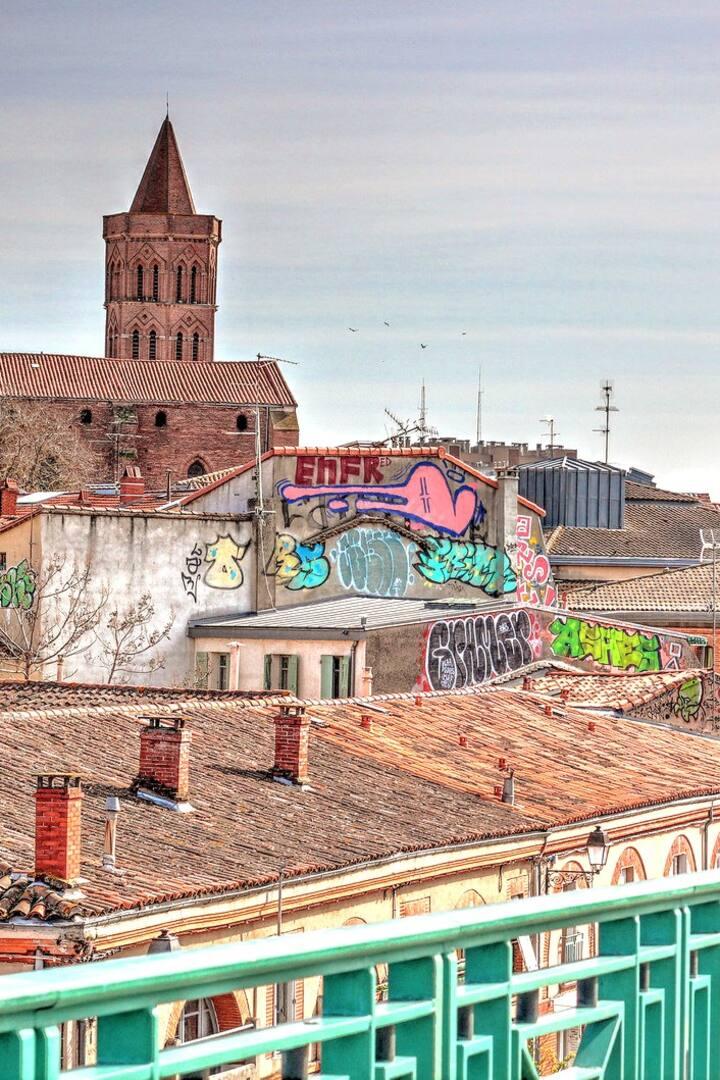 Une histoire du graffiti à Toulouse.