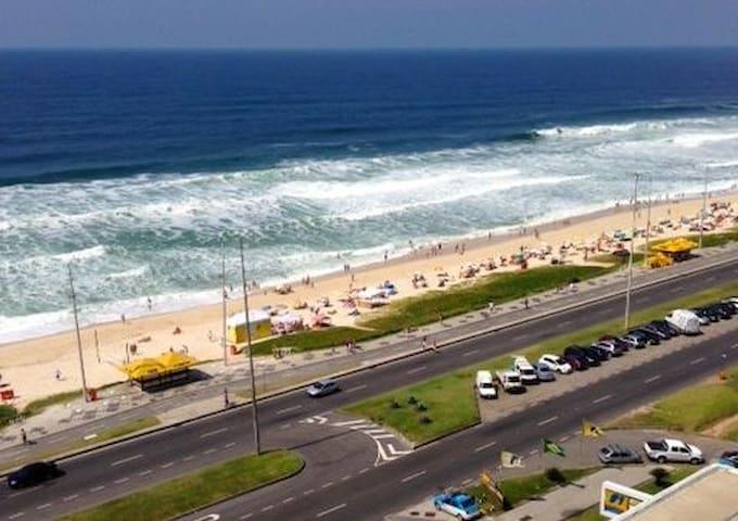 Flat com vista deslumbrante!!! - Rio de Janeiro - Apartment