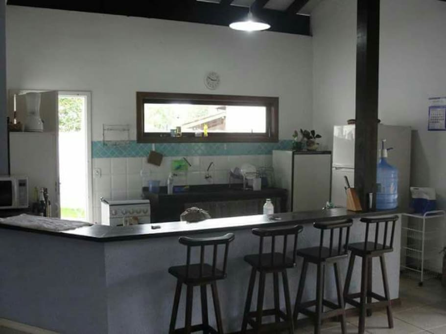 Cozinha e balcão