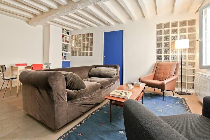 Charming apartment in LE MARAIS