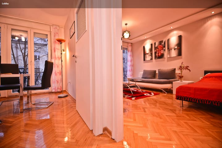 Center, Slavija square,FREE GARAGE - Belgrado - Appartement